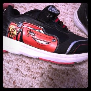Toddler size 8 Cars Shoes